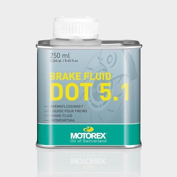 MOTOREX BREMSFLÜSSIGKEIT DOT5.1 250ML